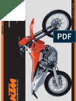 manuale KTM EXC 520_2001