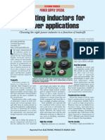 Selecting Inductors for Power Applications 2004.03