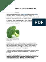 Brócolis Reduz Risco de câncer de Pulmão - Nutrição - Saúde - Medicina Preventiva
