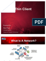 Thin Client PPT