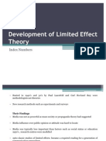 Development of Limited Effect Theory
