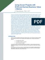 Agile EVM and Earned Business Value Metrics
