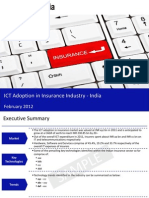 Market Research Report :ICT in Insurance Industry in India 2012