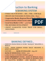 Indian Banking System Introduction