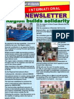 International Newsletter Spring 2012