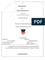 Soller Power Satelite Full Seminar Report 895895