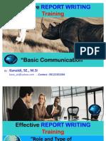 Kumpulan Slide_ Effective REPORT WRITING Training