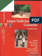 Juegos Tradicionales Guaraníes - Susana Kovács - Paraguay - PortalGuarani