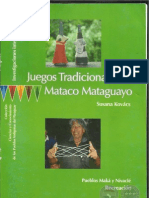 Juegos Tradicionales - Mataco Mataguayo - Susana Kovács - Paraguay - PortalGuarani