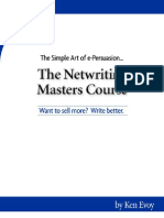 Ken Evoy - The Simple Art of Persuasion... the Net Writing Masters Course - Want to Sell More - Write Better (p.1