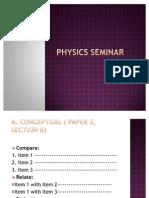 Seminar Physics