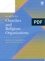 IRS Guide for Churches-Religious Orgs