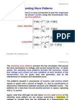 Voltage Standing Wave Ratio Pattern