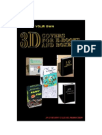 3 D Covers for E Books and Boxes