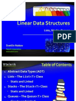 16. Linear Data Structures