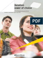 Higher Education and the Power of Choice Australia