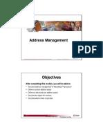 23 Address Management