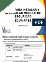 Guia para la instalación del Sistema Aduanero ECUAPASS