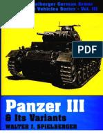 Panzer III Its Variants