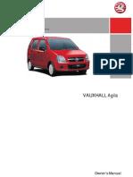 Agila Owners Manual Jul06