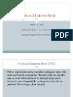 Produsul Intern Brut-1