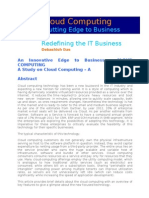 Cloud Computing Dd