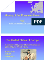 History of the European Union 1234047627496534 1