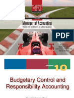 Chapter10_002 Budgetory Control & Responsibility Accounting
