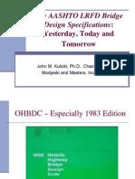 The Aashto Lrfd Bridge Design Specifications