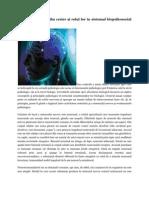 Procesele chimice din creier şi rolul lor în sistemul biopsihosocial al omului