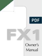 FX1 Manual English Spanish
