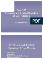 Keratoses and Related Disorders of Oral Mucosa I ( Slide 3)