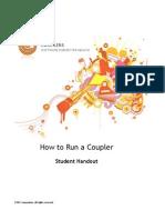 How to Run a Coupler Student Handout