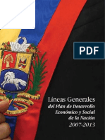 4029413 Plan Nacional Simon Bolivar 2008-2013