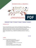 Los Instrumentos de La Orquesta (Webquest Amparo)