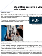Expedição fotográfica percorre a Vila Madalena