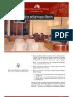servicios a notarios del Registro general de la Propiedad