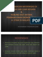an Modenisasi Di Malaysia Dan Luar Negara