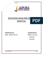 Situation Analysis of City Hospital