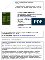 Pralle 2009 Agenda Climate