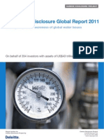 CDP Water Disclosure Global Report 2011