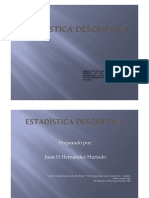 ESTADISTICA DESCRIPTIVA HISTORIA