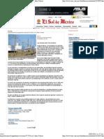 20-02-12 Importaciones de gasolinas crecieron 97.95% en 5 años