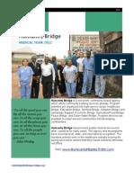 Humanity Bridge Booklet {Nigeria 2012}