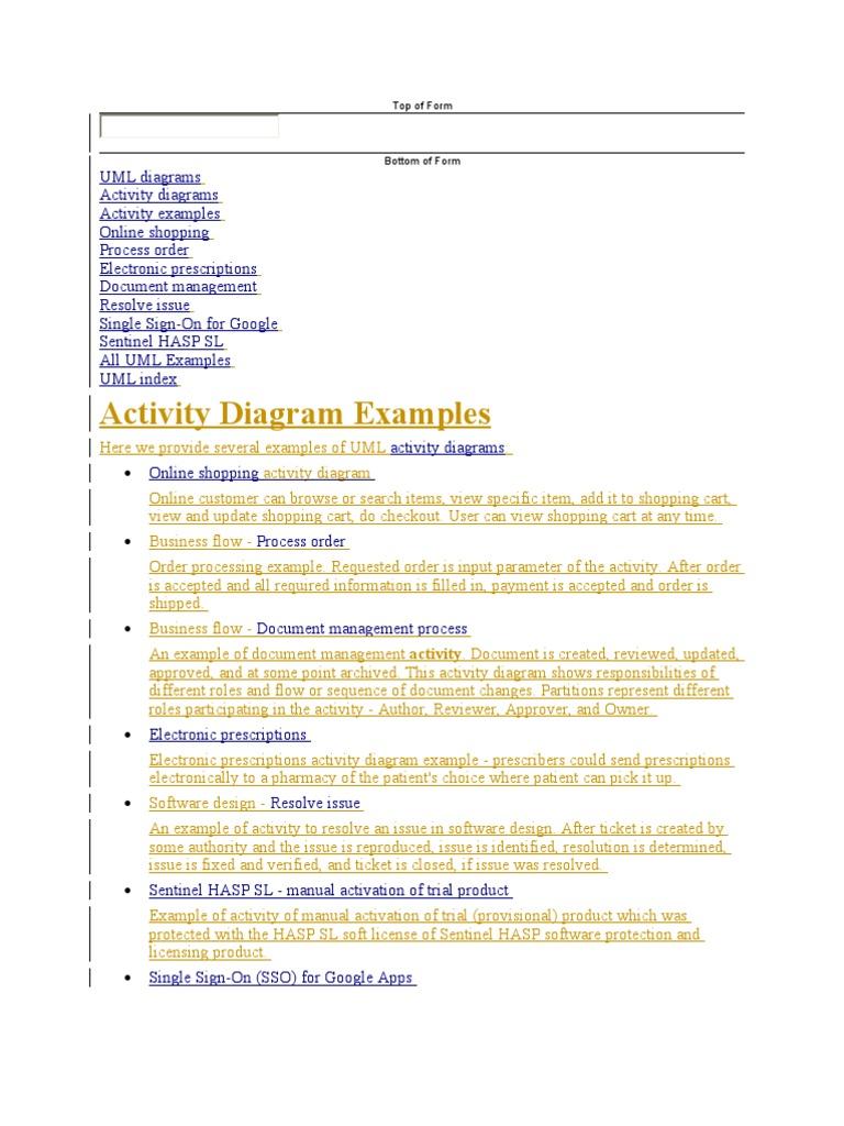 Activitydiagrm authentication online shopping ccuart Choice Image