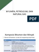 Geomigas Bitumen, Petroleum, Dan Natural Gas