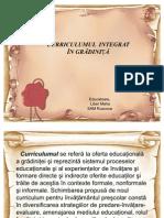 Curriculum_integrat in Gradinite