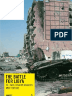 The battle for Libya Killings, disappearances and torture (Amnesty International)