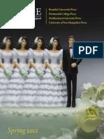 UPNE Spring 2012 Catalog