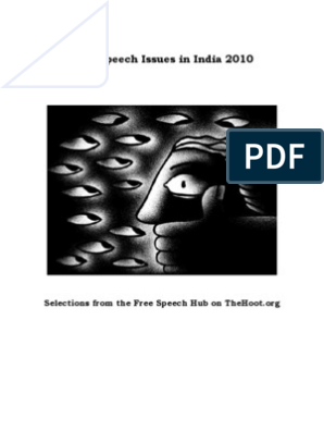 50679747 Free Speech Issues in India 2010   Freedom Of